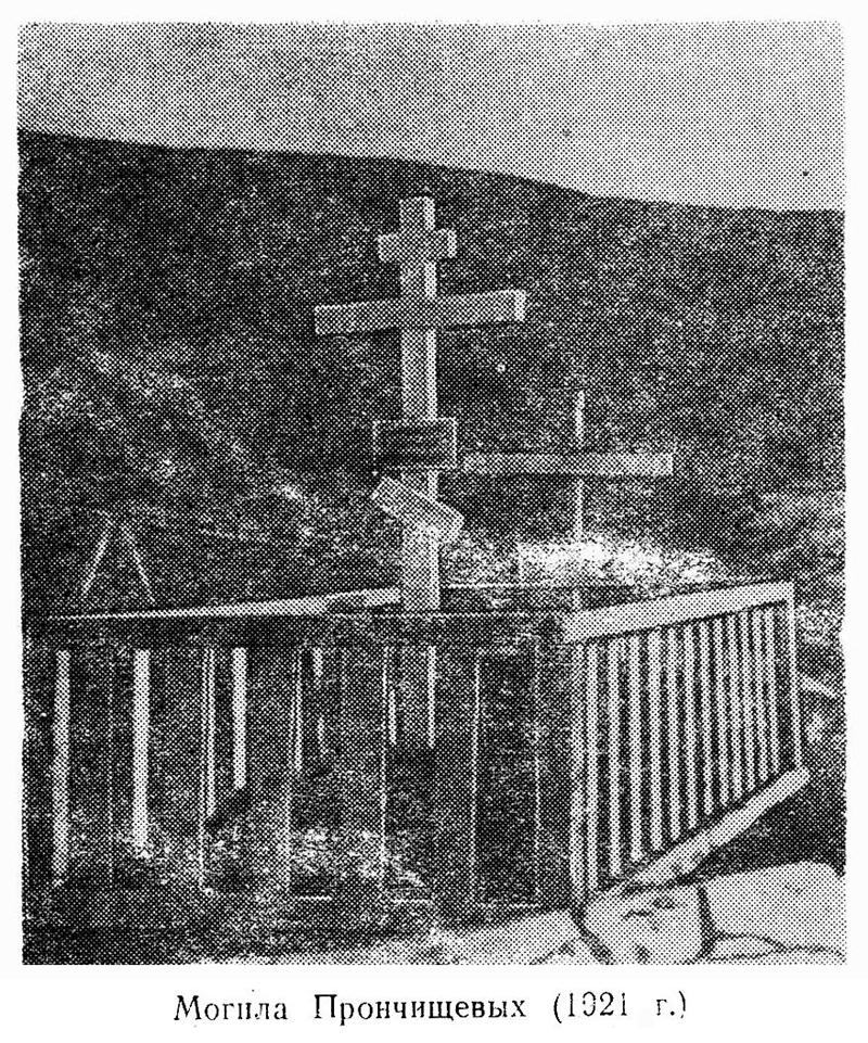 瓦西里·普龙奇谢夫和塔季扬娜·普龙奇谢娃的坟墓。图片来源:Wikipedia