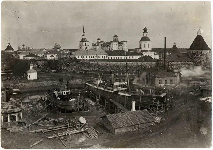 索洛韦茨基群岛集中营。图片来源:solovki.ca