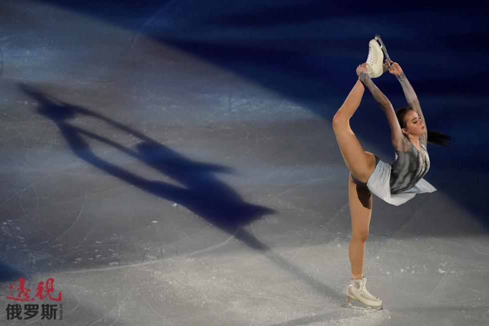 阿丽娜·扎吉托娃。图片来源:AP
