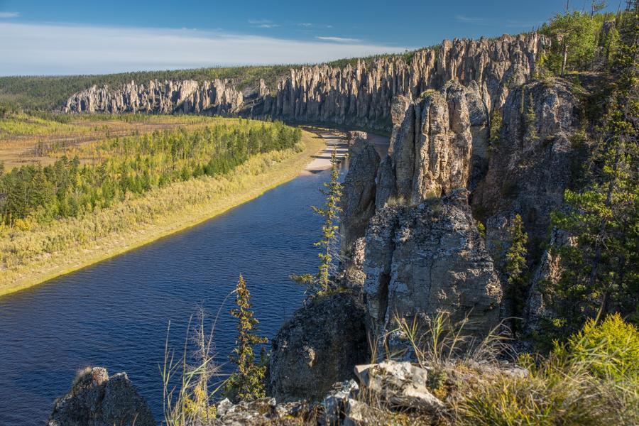 勒拿河柱状岩, 来源:inyakutia.com