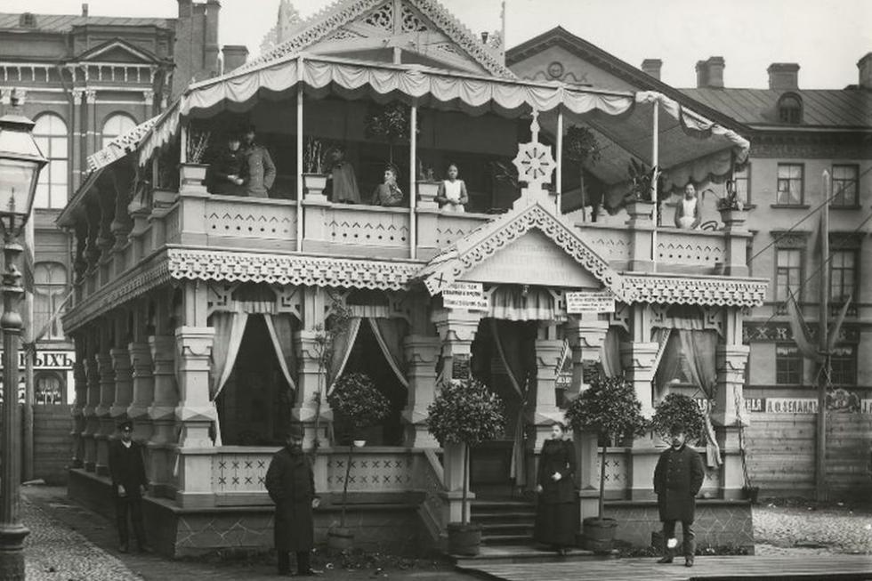 喝茶戒酒协会。19世纪末-20世纪初。卡尔·布拉(Karl Bulla)。