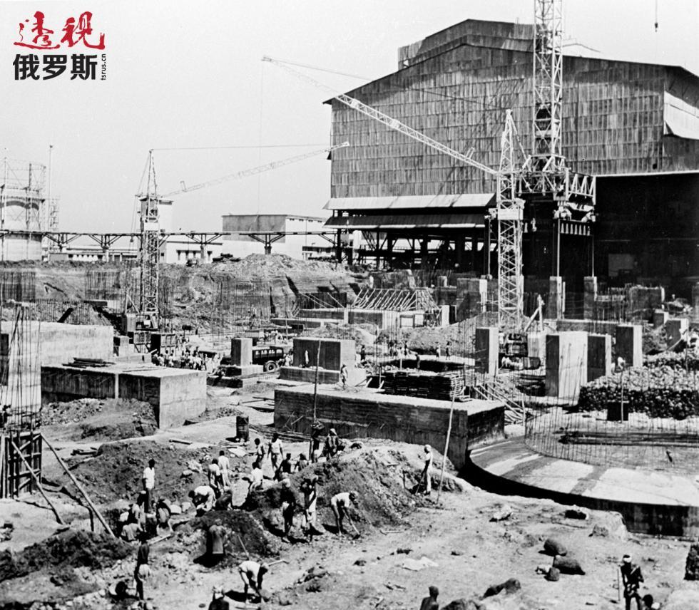 印度比莱钢铁厂。图片来源:I. Kravchenkov / 俄新社
