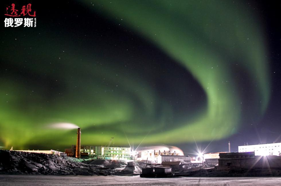 克拉斯诺亚尔斯克边疆区迪克森镇。图片来源:Robert Prastsenis / 俄新社