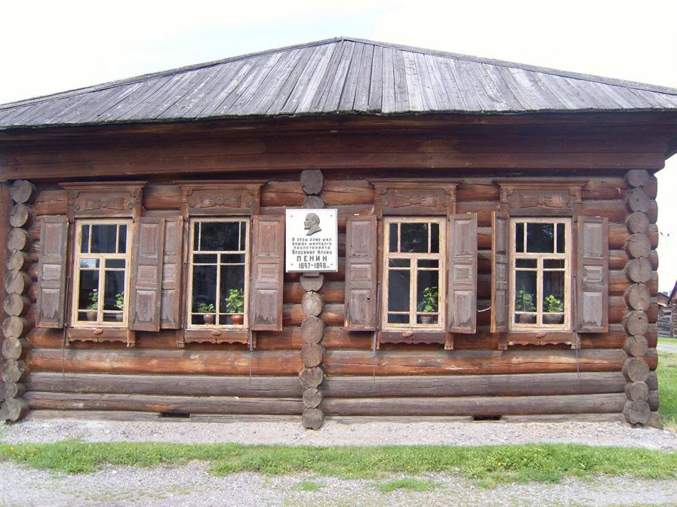 舒申斯基村列宁住的房子。摄影:Vyacheslav Bukharov (CC BY-SA 4.0)