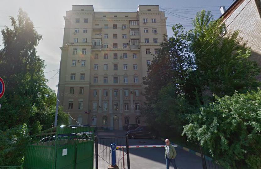 维什尼亚科夫斯基胡同23号商人卢库京家族的庄园。图片来源:Google