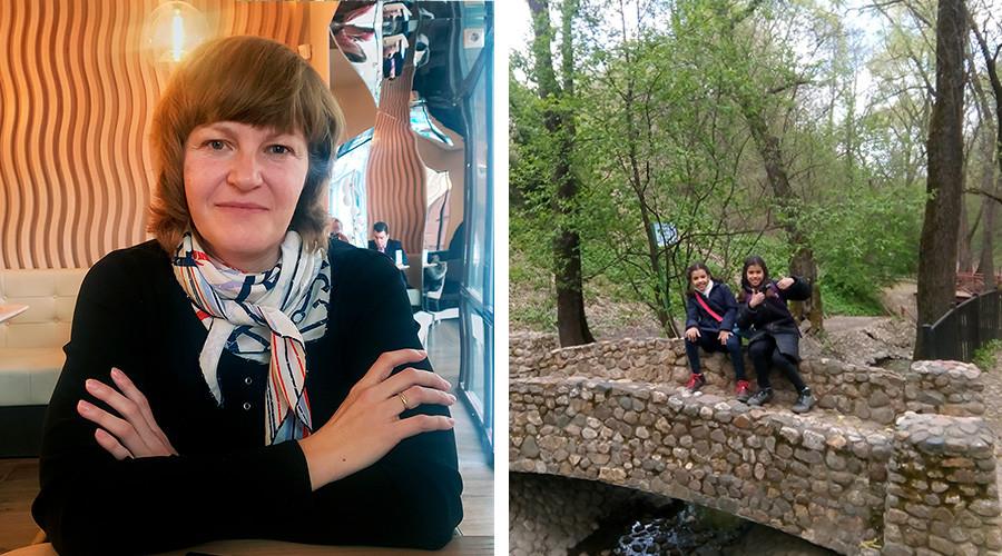 图一:奥克萨娜·雷巴里琴科。图二:索菲亚和斯特凡尼娅。图片来源:私人档案