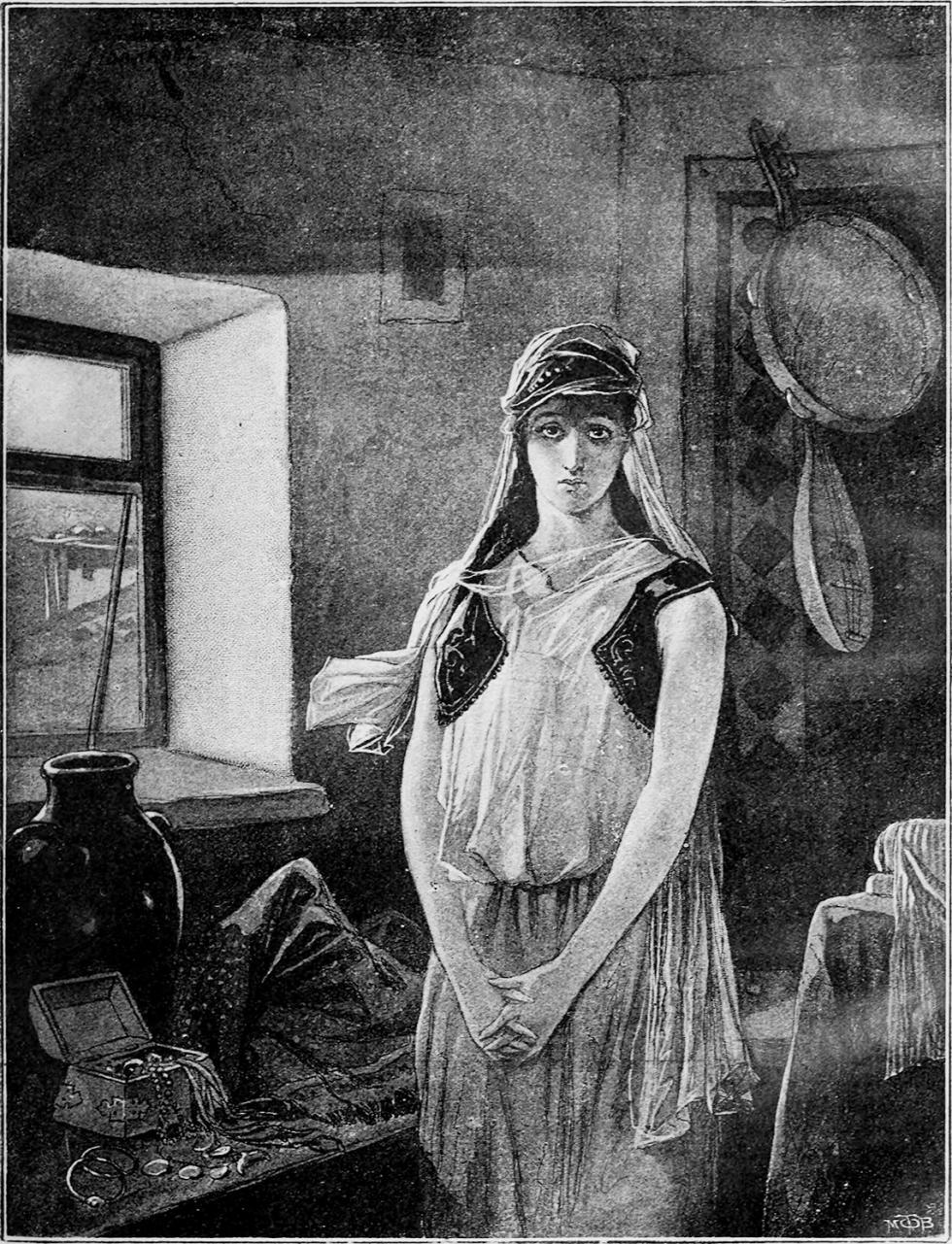 贝拉。V·波利亚科夫绘图。1900年。