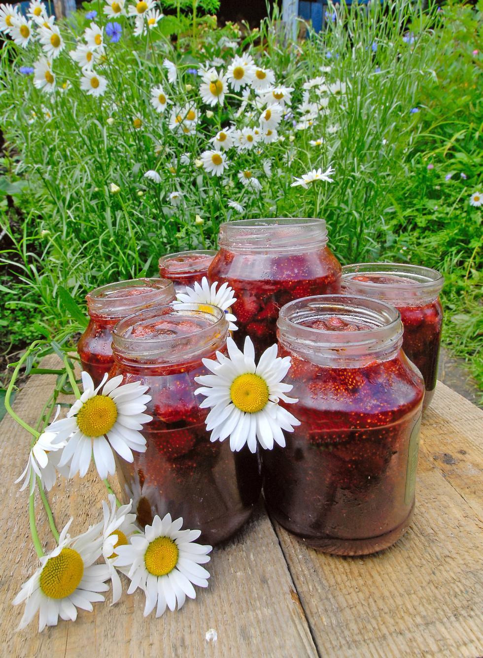 草莓果酱。图片来源:Aleksandr Kolbasov / 塔斯社