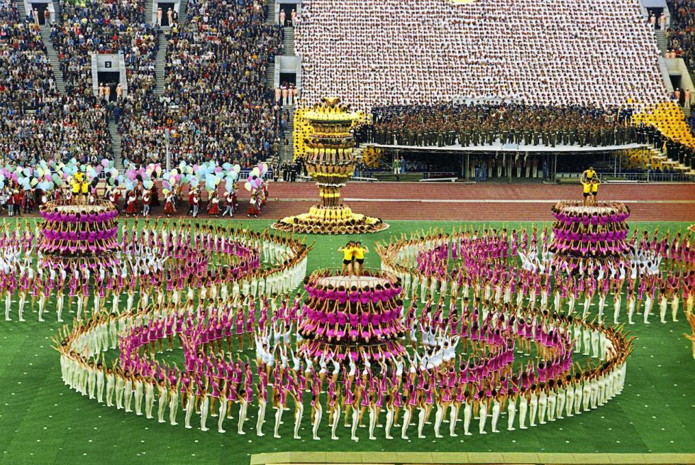 莫斯科奥运会开幕式。图片来源:Vladimir Akimov / 俄新社