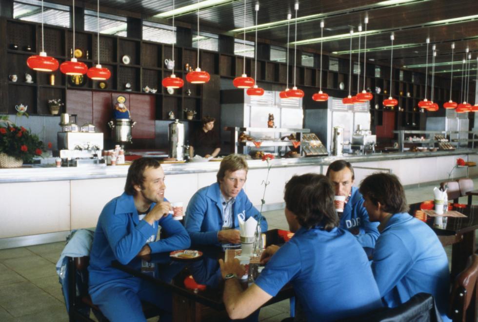 莫斯科奥运村的一家餐厅。图片来源:Valentin Sobolev / 塔斯社