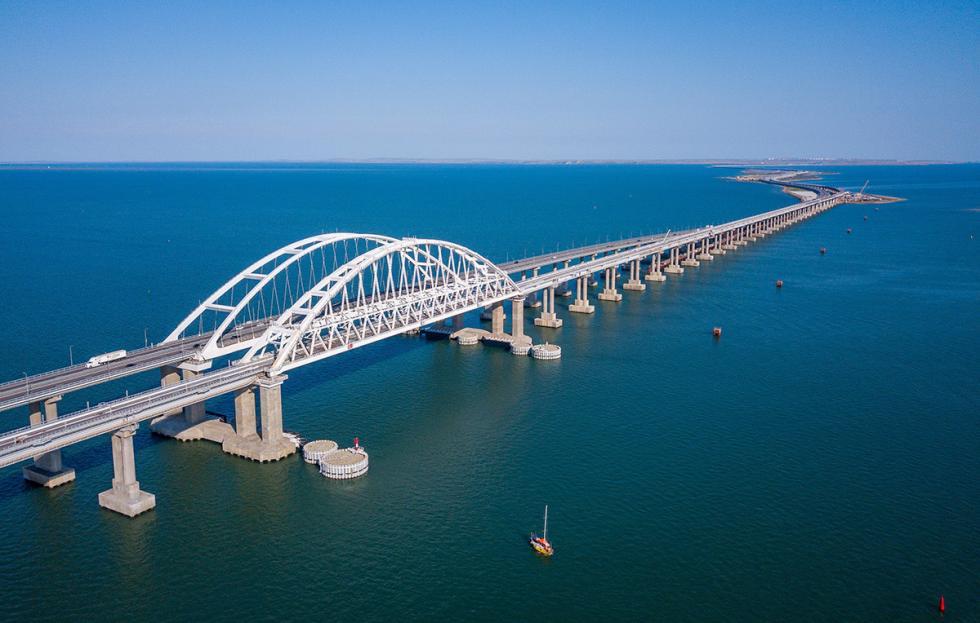 克里米亚大桥。图片来源:Rosavtodor (CC BY 4.0)