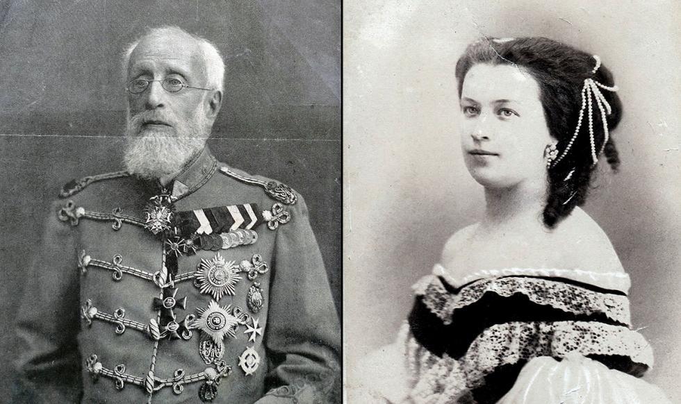 普希金大儿子亚历山大(1833-1914);普希金女儿娜塔莉亚(1836–1913)。 公开来源
