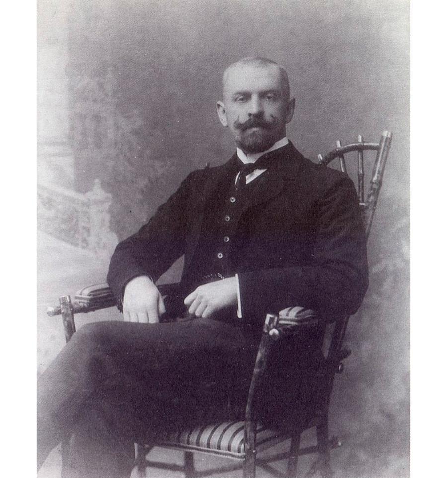 费奥多尔·陀思妥耶夫斯基儿子费奥多尔。公开来源
