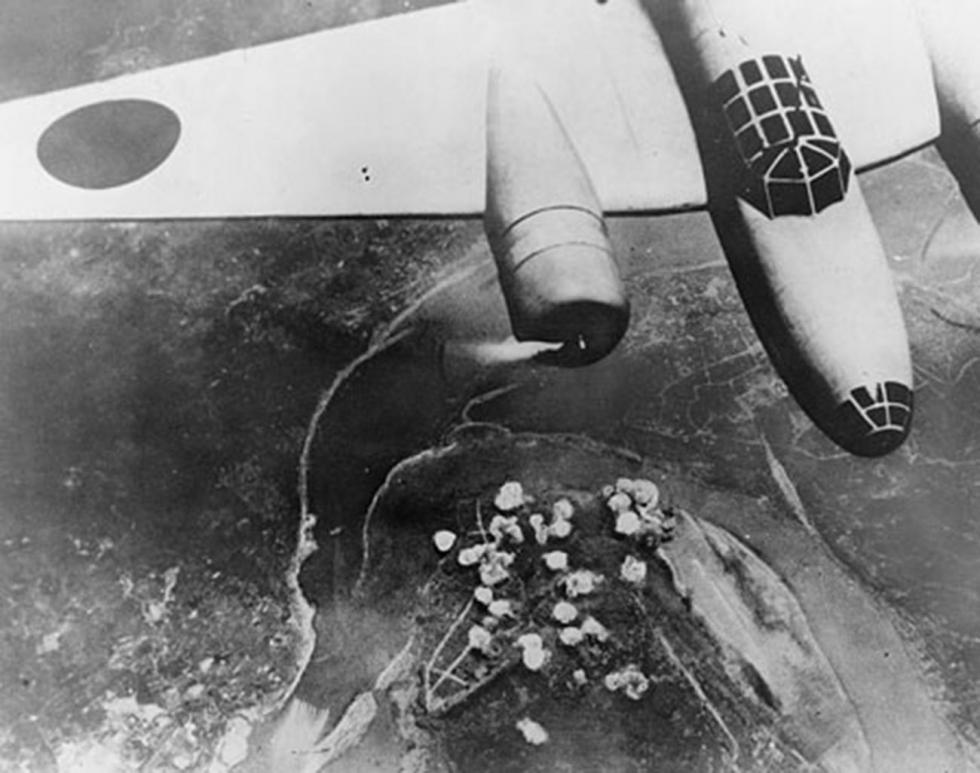 日本轰炸机 涞源:Press Photo