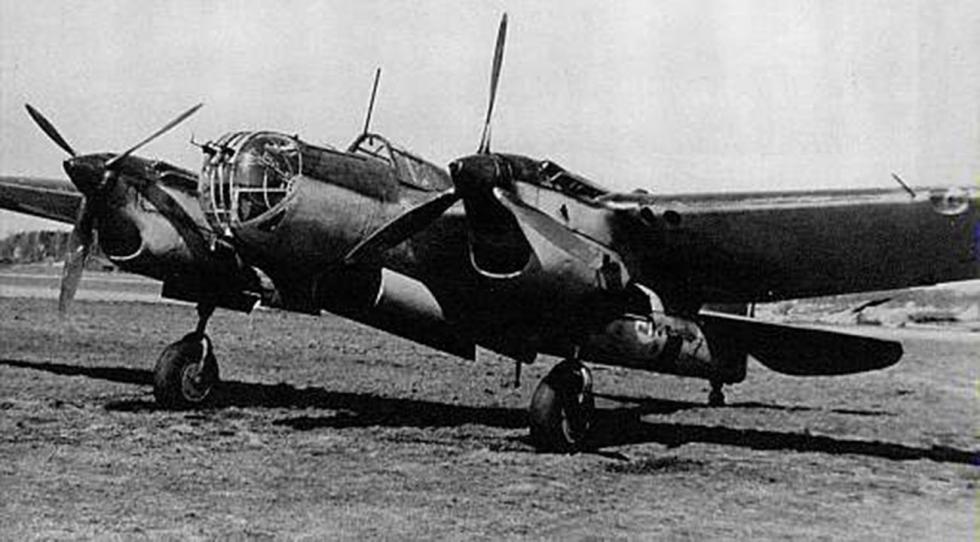 苏联SB-2轰炸机  涞源:Press Photo