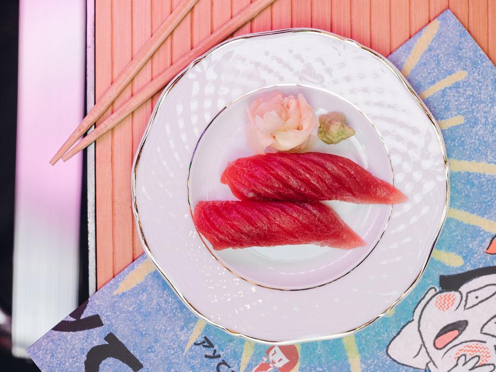 '美人鱼寿司'日本料理店 / Press Photo