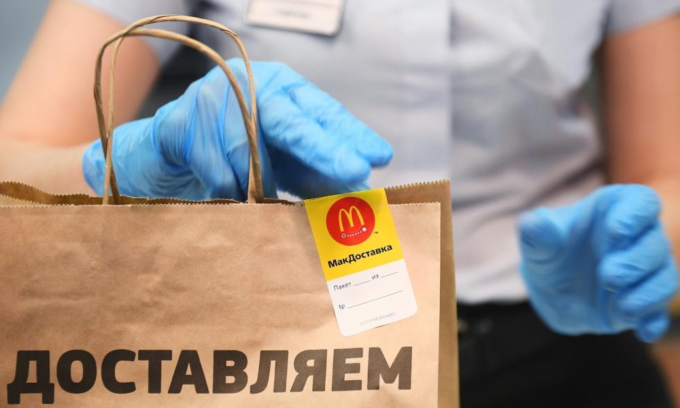 麦当劳 涞源:Eugene Odinokov/俄新社