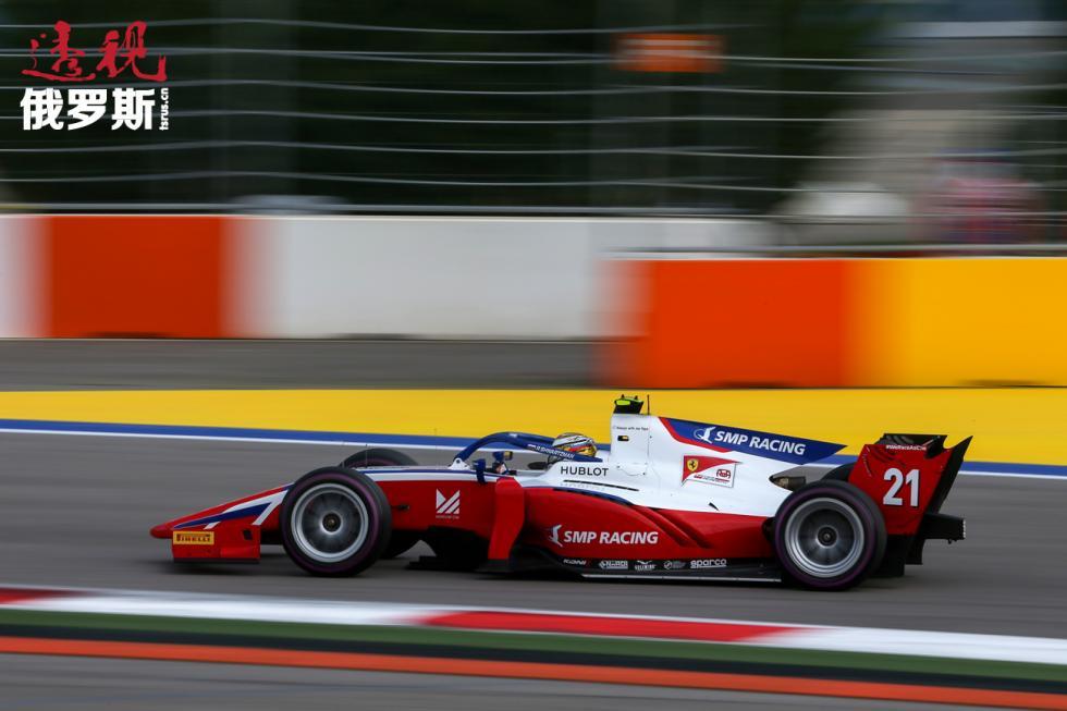 2019年9月施瓦茨曼登上了索契F3赛场领奖台。图片来源:Dmitry Feoktistiv / 塔斯社