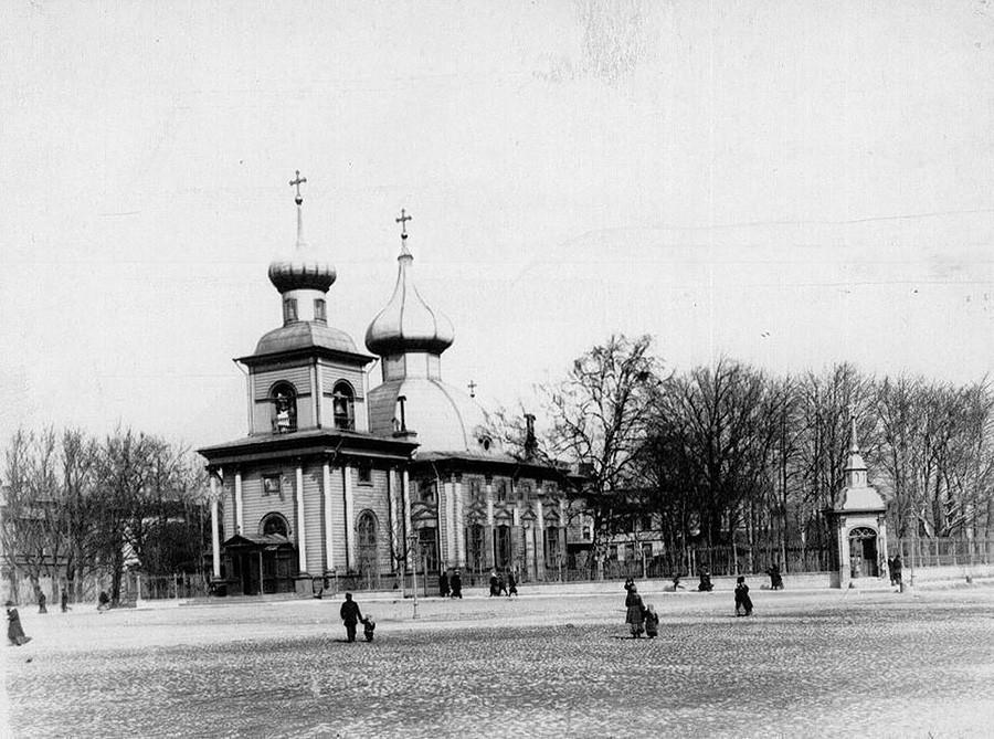 旧三一大教堂。公开来源