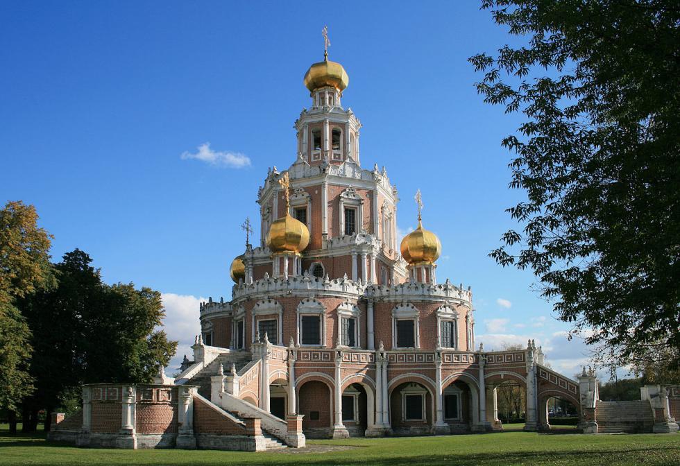 菲利圣母帡幪教堂。图片来源:Ludvig14 (CC BY-SA 3.0)