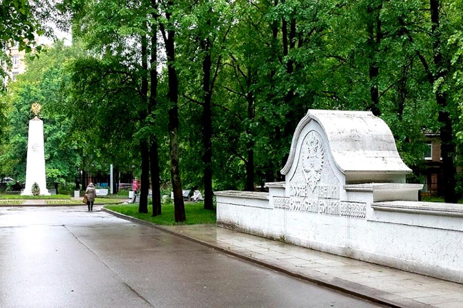 一战英雄纪念公园。图片来源:Google Maps