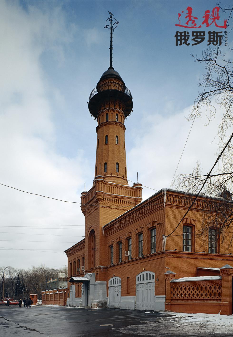索科利尼基区的古老塔楼。图片来源:Yuri Artamonov / 俄新社