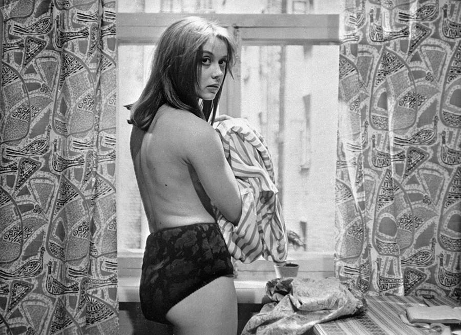 玛格丽塔·捷列霍娃。图片来源:Frunze Dovlatyan/Armenfilm, 1965
