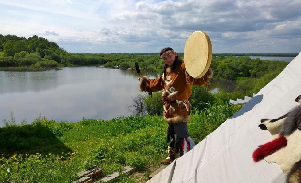 萨卡奇阿梁的萨满祭司。图片来源:sikachialyan.ru