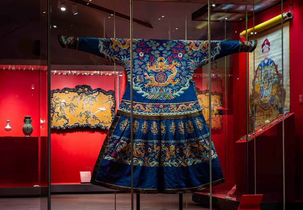 莫斯科克里姆林宫博物馆2019年展出北京故宫博物院藏品。Press photo