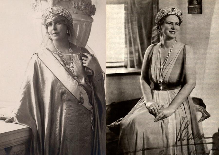 玛丽王后和她女儿伊利亚娜。公开来源