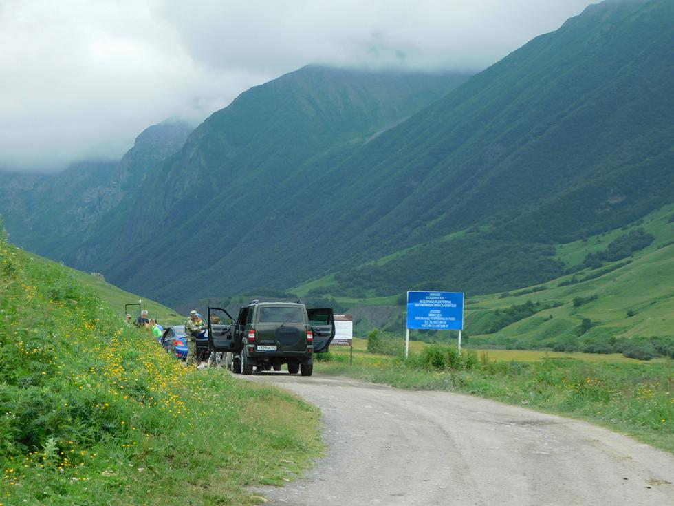 北奥塞梯边界地区。摄影:Josh Nadeau