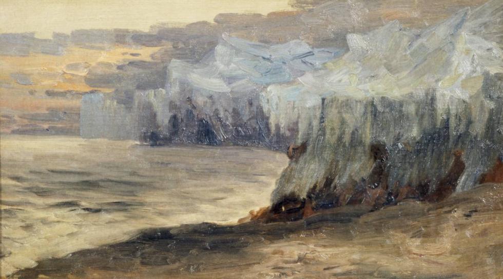 亚历山大·鲍里索夫(Alexandr Borisov),《冰之间》,1896年。公开来源