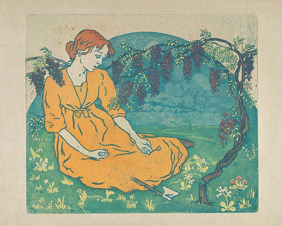 《不可挽回》(L'Irreparable),1893-1894年。图片来源:特列季亚科夫画廊