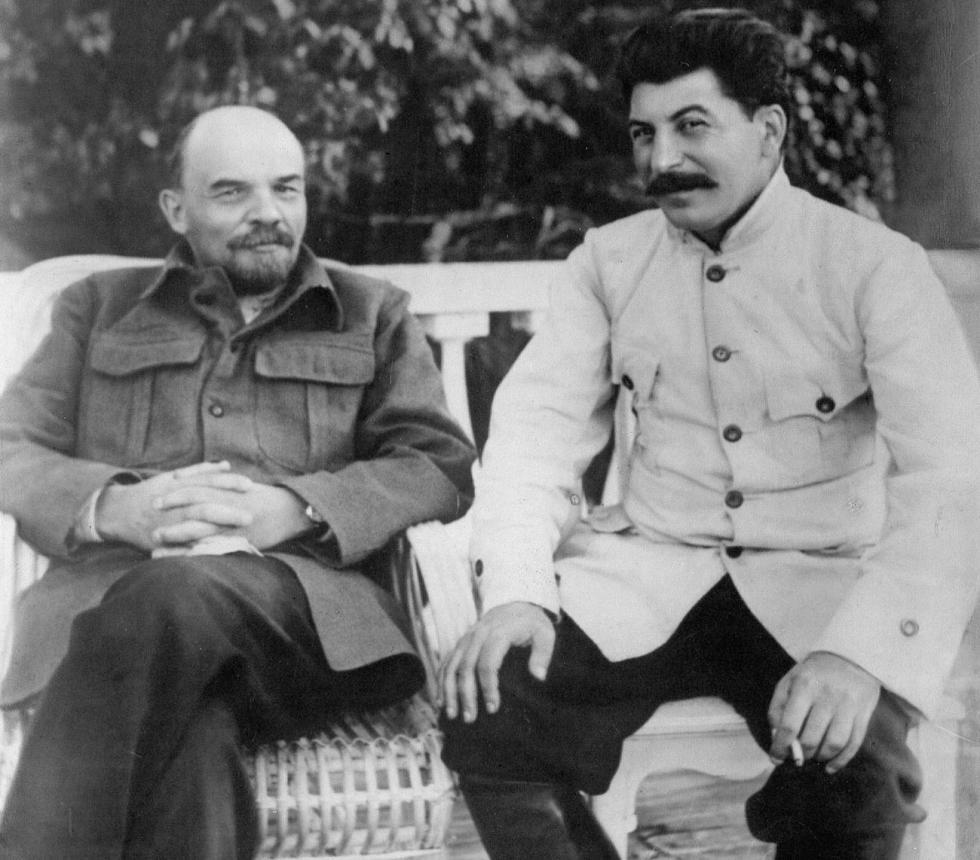 弗拉基米尔·列宁和约瑟夫·斯大林。图片来源:Global Look Press