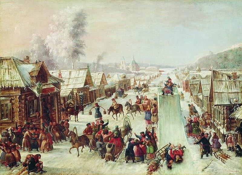 列奥尼·索洛马特金(Leonid Solomatkin),《谢肉节》。