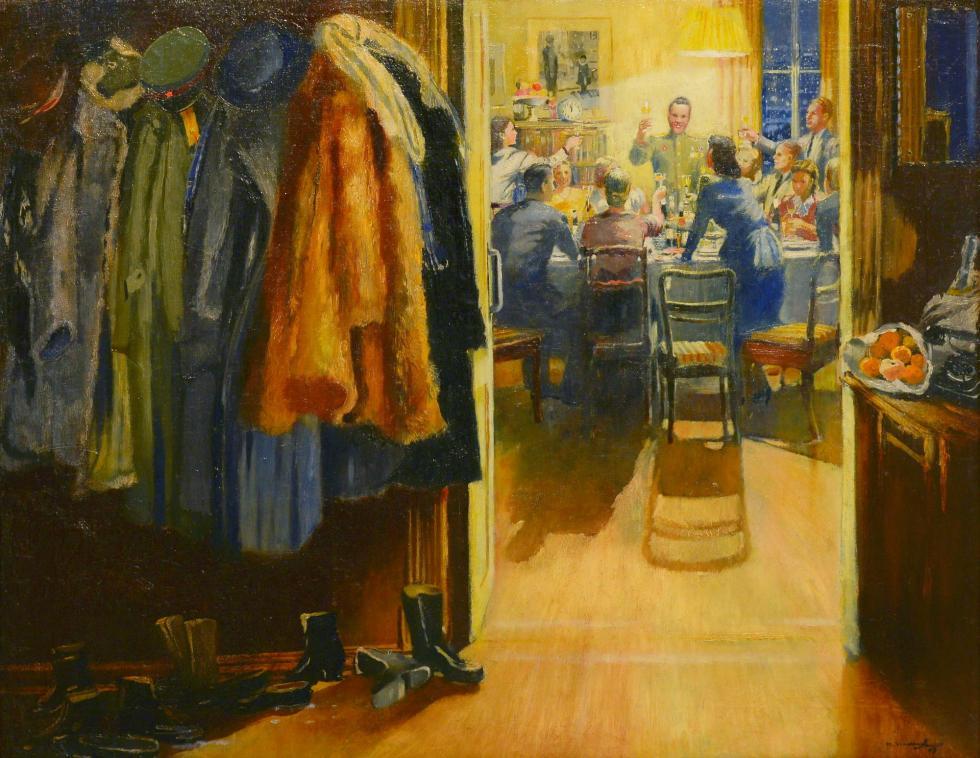 尤里·皮缅诺夫(Yury Pimenov),《新年》,1949年。