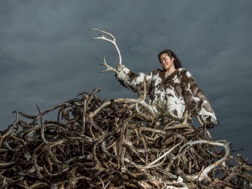 永久冻土带后土。摄影:Oleg Zotov, Ida Ruchina