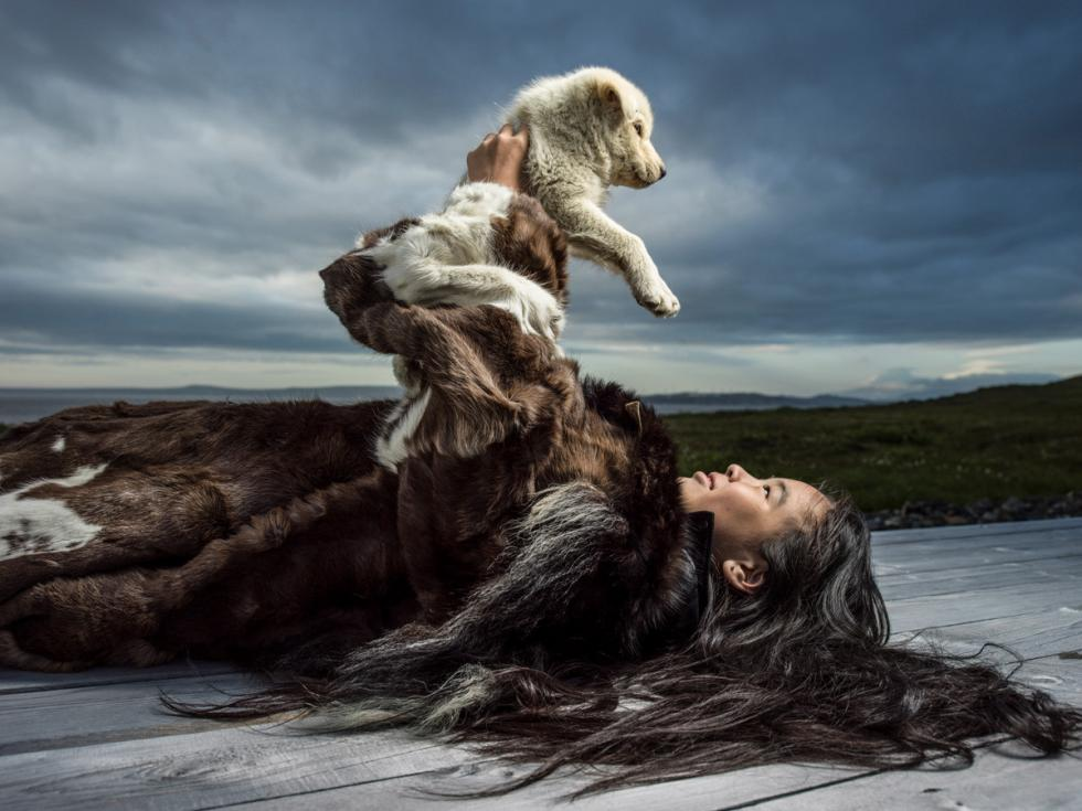 楚科奇的童话——犬王。摄影:Oleg Zotov, Ida Ruchina