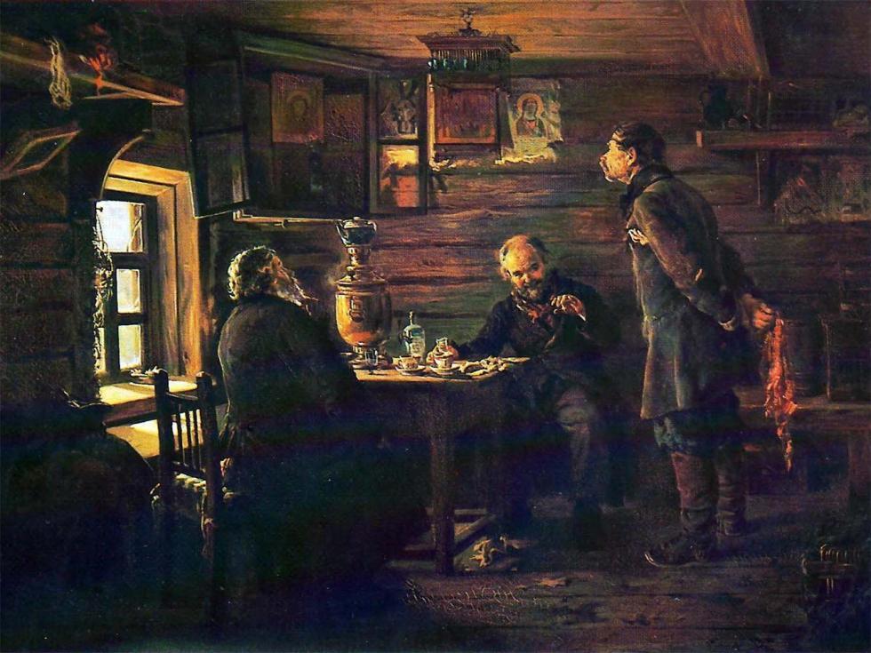 《夜莺迷》,1872-1873年,国立特列季亚科夫画廊。