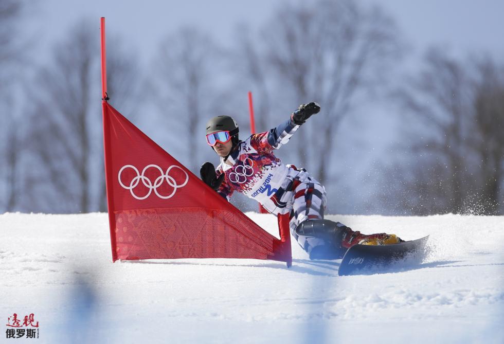 2014年索契冬奥会归化美国人维克·维尔德(Vic Wild)/ ASSOCIATED PRESS