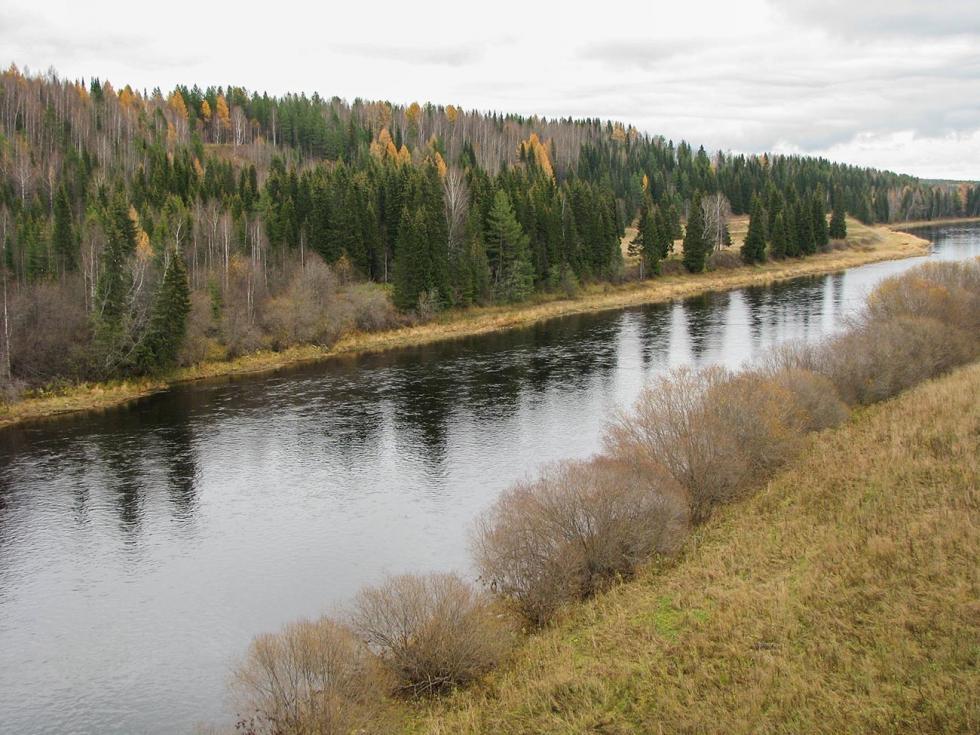 乌赫塔河。摄影:Borealis55