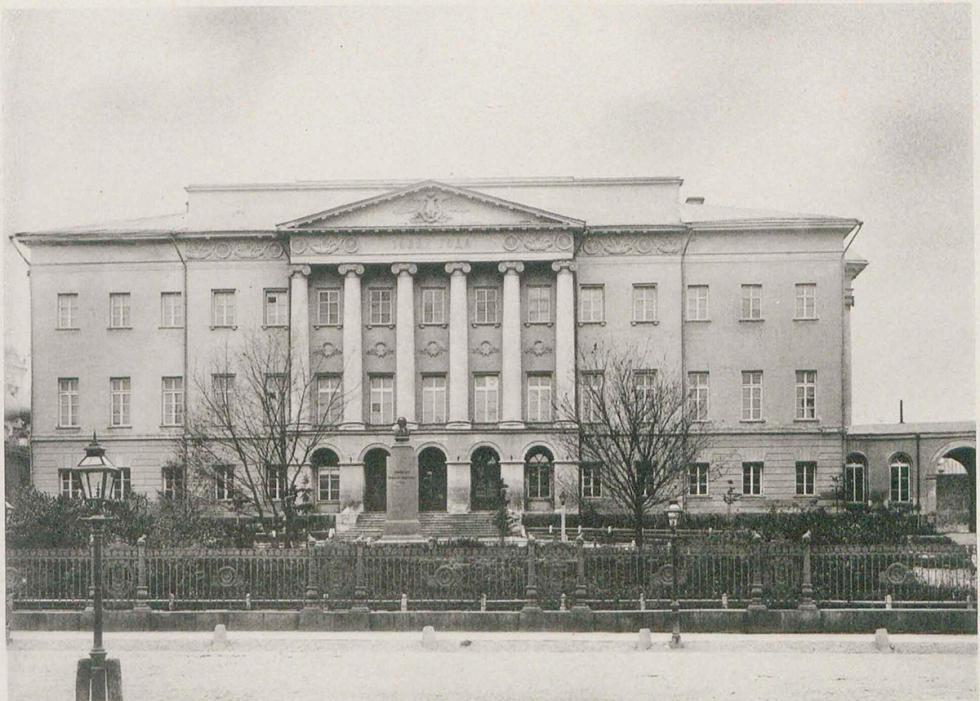 莫斯科国立大学大楼。图片来源:Russian State Library