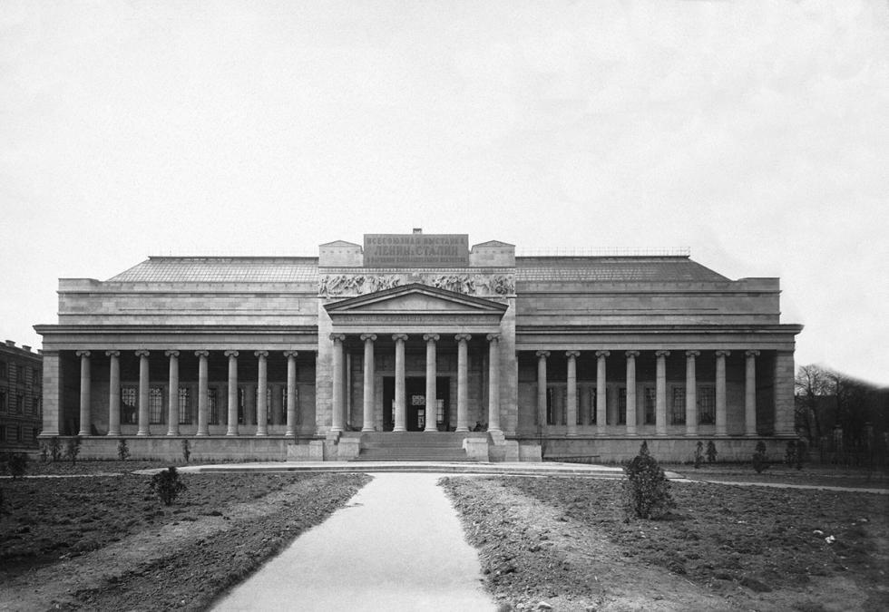 国立普希金造型艺术博物馆。图片来源:Moscow Main Archive Department
