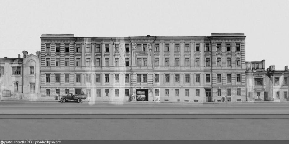 莫霍瓦亚街10号。图片来源:Russian Museum Fund