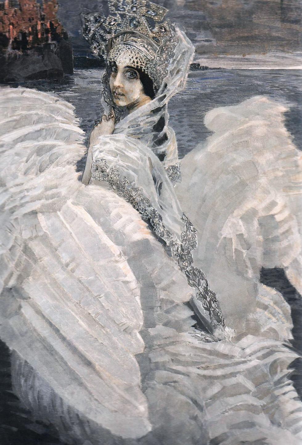 《天鹅公主》,1900年,莫斯科国立特列季亚科夫画廊