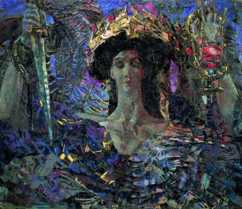 《六翼天使(亚兹拉尔)》,1904年,国立俄罗斯博物馆