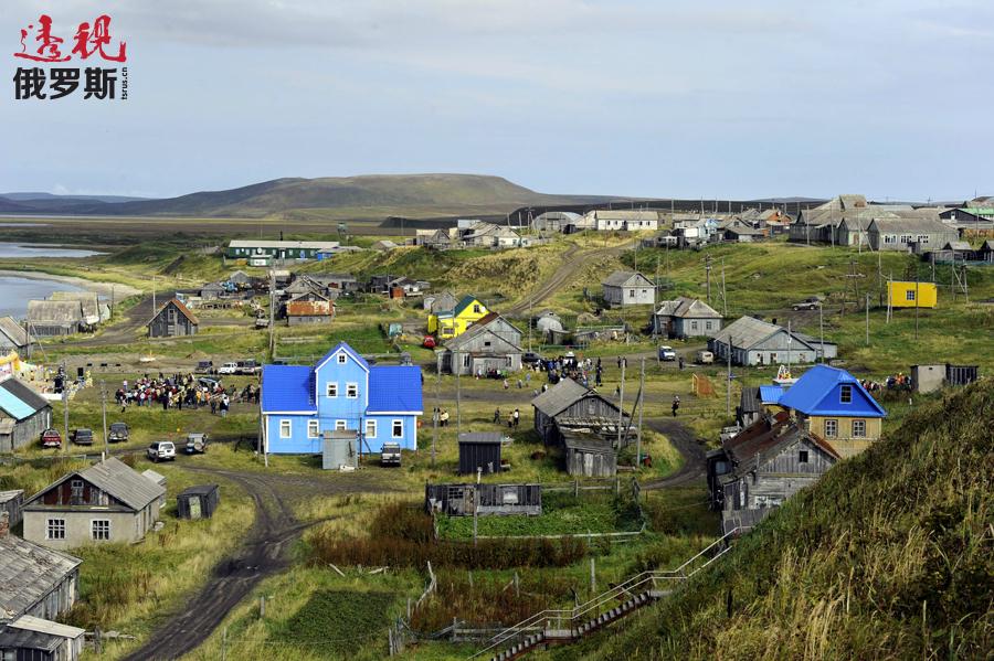 尼科尔斯科耶村。图片来源:Aleksandr Petrov / 塔斯社