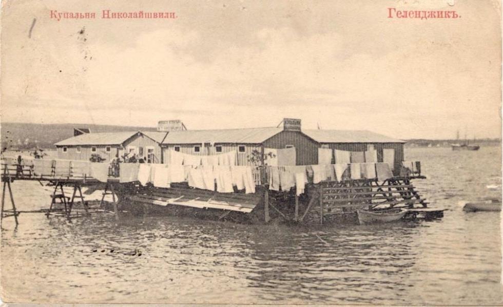 浴场,格连吉克。图片来源:rg.ru
