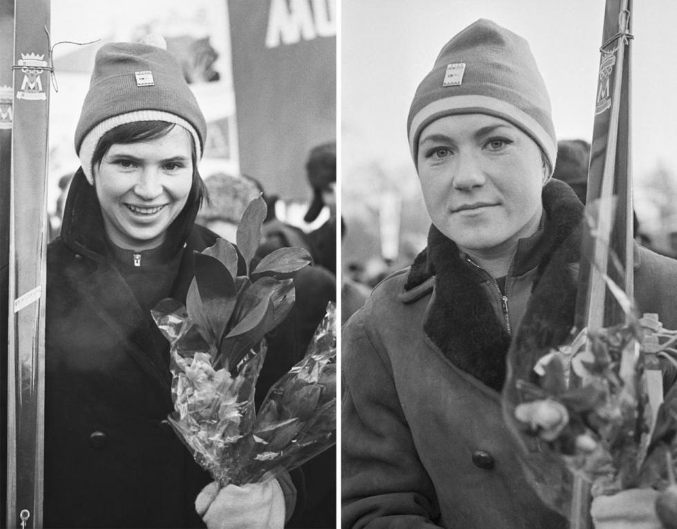 """完成莫斯科-圣彼得堡滑行后的""""梅捷利察""""成员。图片来源:Viktor Shandrin / 塔斯社"""