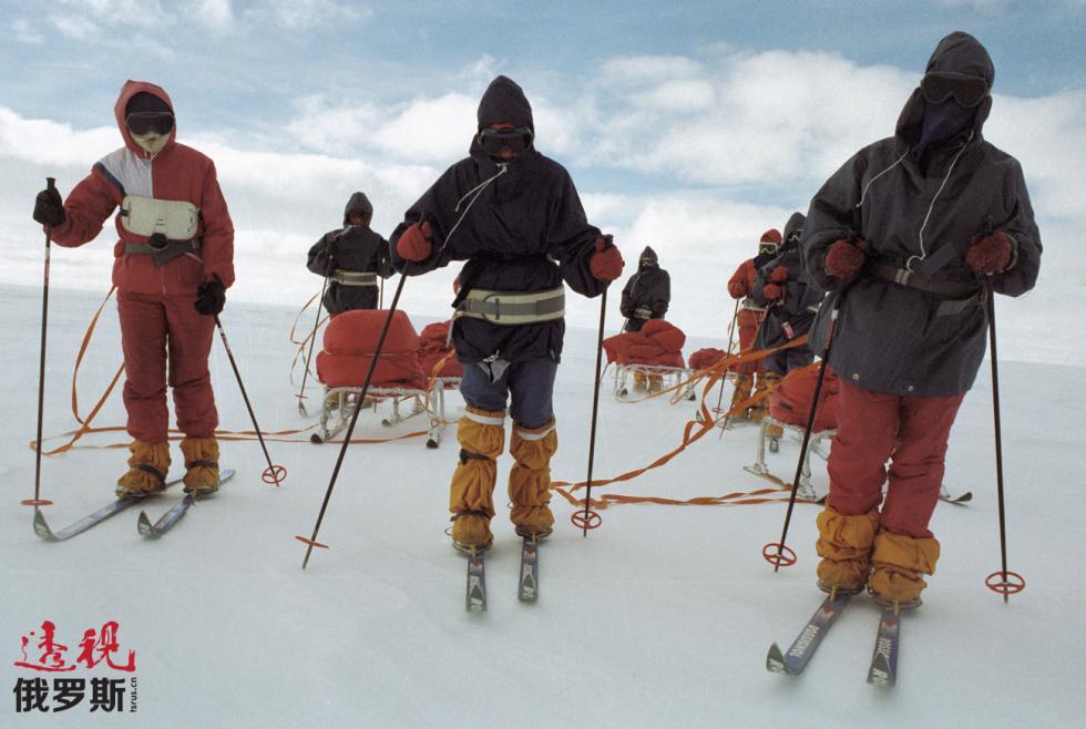 """探险北极的""""梅捷利察""""。图片来源:I. Kuznetsova / 俄新社"""